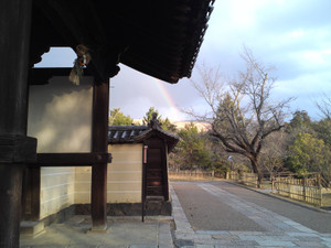 Todaiji_kaidando_rainbow